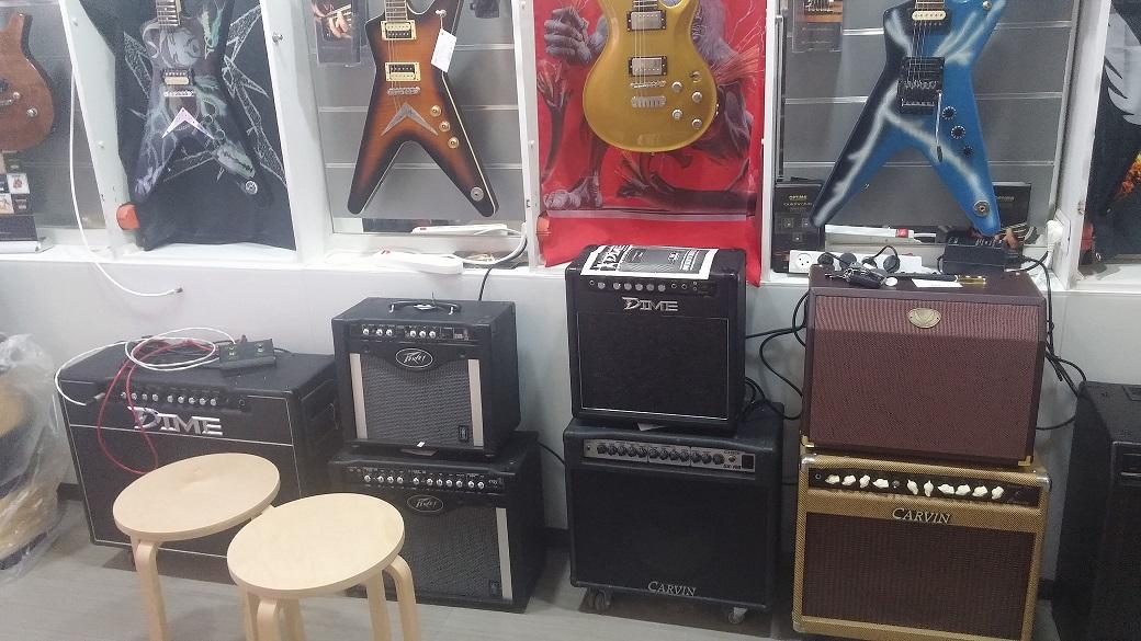 מגברים לגיטרות