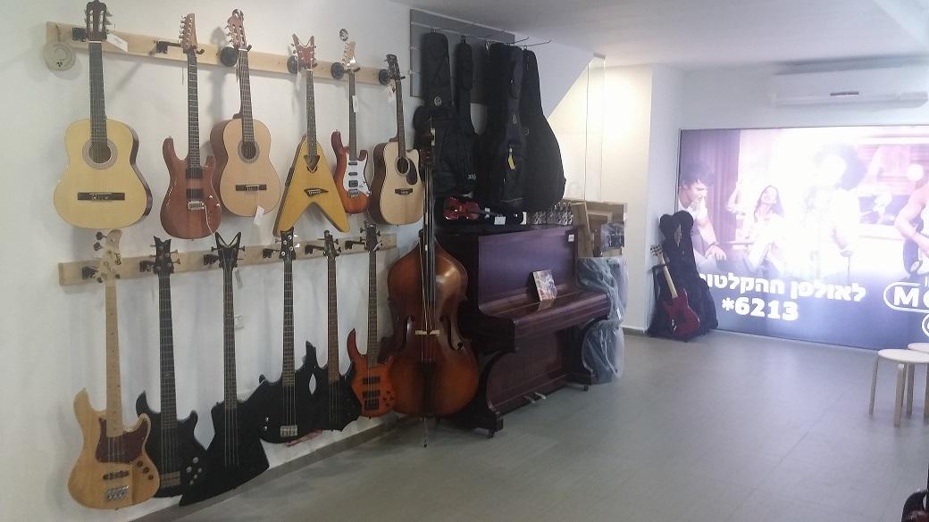 גיטרות קלאסיות, אקוסטיות וחשמליות