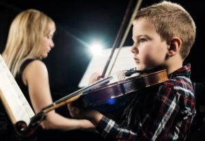 שיעורי כינור