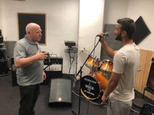 שיעור פיתוח קול